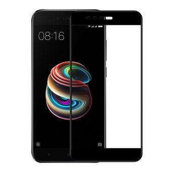 Защитное стекло Full Glue HQ Xiaomi Mi A1/Mi 5x black