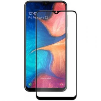 Защитное стекло 5D для Samsung Galaxy A20
