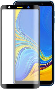 Защитное стекло Blade Full Glue Samsung A7 2018 black