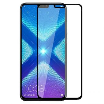 Защитное стекло Full Glue Huawei Honor 8X  black