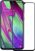 Защитное стекло Full Glue Samsung A40 black