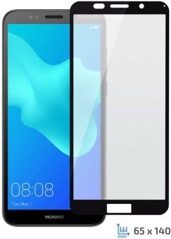 Защитное стекло Full Glue Huawei Y5 2018/Honor 7A black