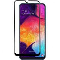Защитное стекло Full Glue Samsung A01 black