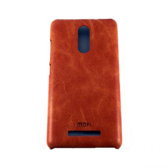 Пластиковый бампер Mofi на Xiaomi Redmi Note 3 коричневый