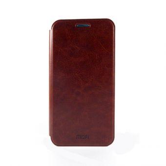 Чехол-книжка Mofi на Xiaomi Redmi 4S коричневый