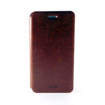 Чехол-книжка Mofi на Xiaomi Redmi Note 4 коричневый