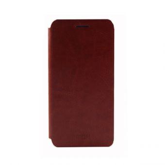Чехол-книжка Mofi на Samsung A3 коричневый