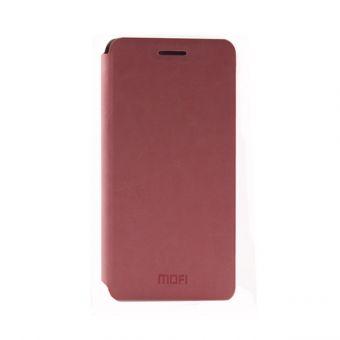 Чехол-книжка Mofi на Samsung A3 розовый