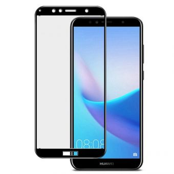 Защитное стекло Full Glue Huawei Y6 2018/Y6 Prime black