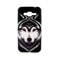 Силиконовый бампер на Samsung J3 - Wolf