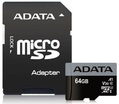 КП A-data MicroSD-64gb 10 class