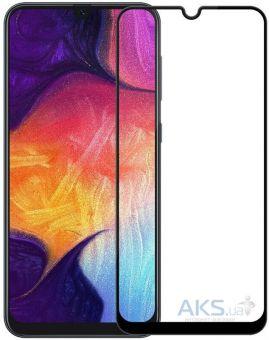 Защитное стекло Full Glue Samsung A50s black