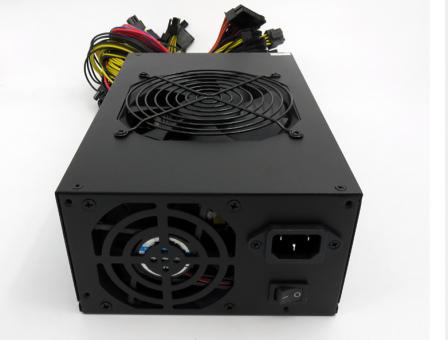 Блок питания Ethereum Zcash miners Gold power supply 1600W