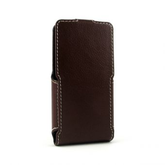 Чехол-флип универсальный 4 дюйма коричневый