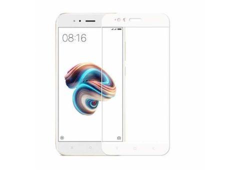 Защитное стекло Full Glue Xiaomi Mi A1/Mi 5x white