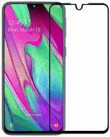 Защитное стекло Full Glue для Samsung A20 black