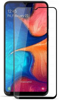 Защитное стекло Full Glue Samsung A10/A10s/A20 black